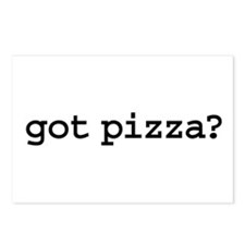 got pizza? Postcards (Package of 8)