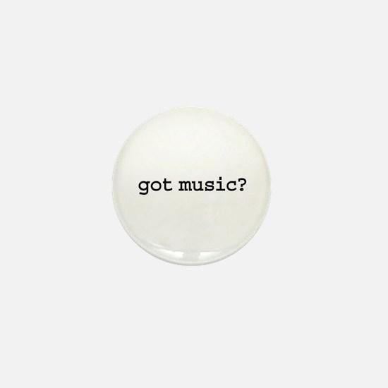 got music? Mini Button