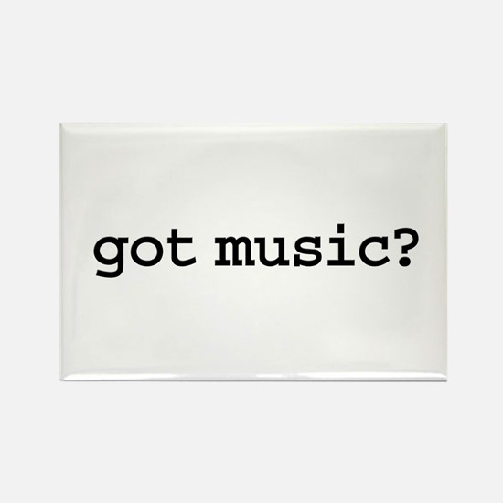 got music? Rectangle Magnet