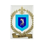DECHAINE Family Crest Rectangle Magnet (100 pack)