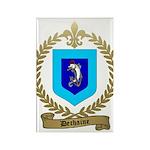 DECHAINE Family Crest Rectangle Magnet (10 pack)
