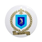 DECHAINE Family Crest Ornament (Round)