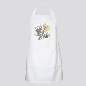 Winter Birds & Tree Cooking Apron