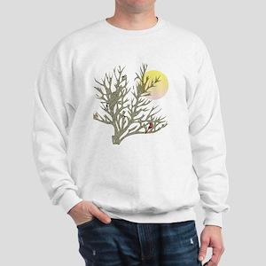 Winter Birds & Tree Sweatshirt