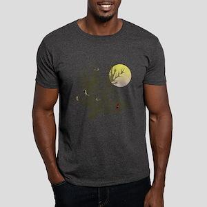 Winter Birds & Tree Dark T-Shirt