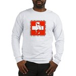 Swiss Musical Note Long Sleeve T-Shirt