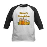 Nana's Pumpkins Kids Baseball Jersey