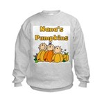 Nana's Pumpkins Kids Sweatshirt