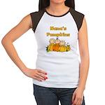 Nana's Pumpkins Women's Cap Sleeve T-Shirt