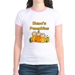 Nana's Pumpkins Jr. Ringer T-Shirt