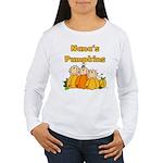 Nana's Pumpkins Women's Long Sleeve T-Shirt