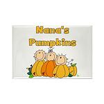 Nana's Pumpkins Rectangle Magnet