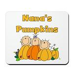 Nana's Pumpkins Mousepad