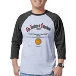 New Father's Day Mens Baseball Tee