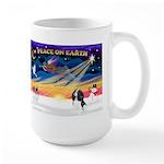 XmasSunrise/Cavalier #6 Large Mug