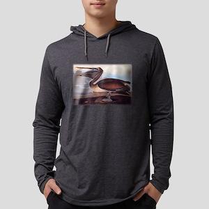 Brown Pelican Audubon Print Long Sleeve T-Shirt
