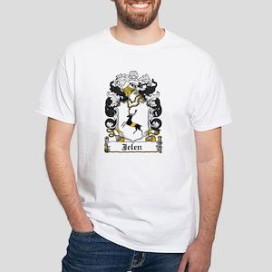 Jelen Family Crest White T-Shirt
