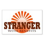 Stranger Rectangle Sticker