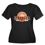 Stranger Women's Plus Size Scoop Neck Dark T-Shirt