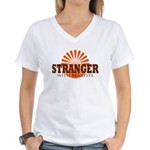 Stranger Women's V-Neck T-Shirt
