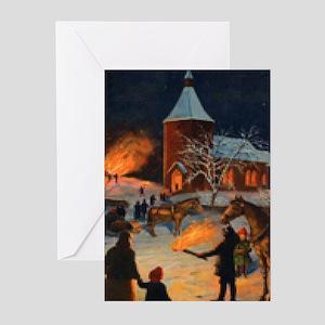 Glædelig Jul Greeting Cards (Pk of 20)