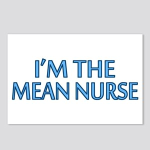 Mean Male Nurse Postcards (Package of 8)