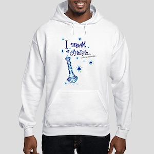I Dream of Cthulhu Hooded Sweatshirt