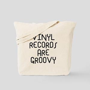 Vinyl Records Tote Bag