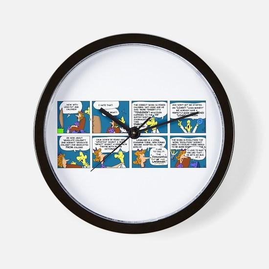 Language Wall Clock