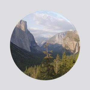 Yosemite Vista Ornament (Round)
