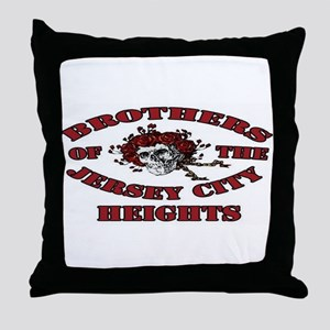 Brothers of the Jersey City Heights Throw Pillow