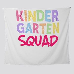 Kindergarten Squad Pink Light Cute Wall Tapestry
