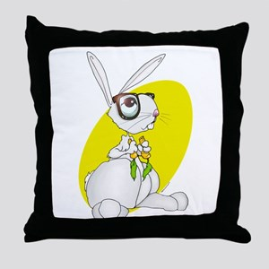 Bunny 2 Throw Pillow