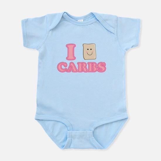I love Carbs! Infant Bodysuit