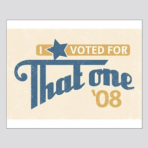 Voted For That One Poster (Small)
