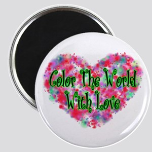 Color The World Magnet