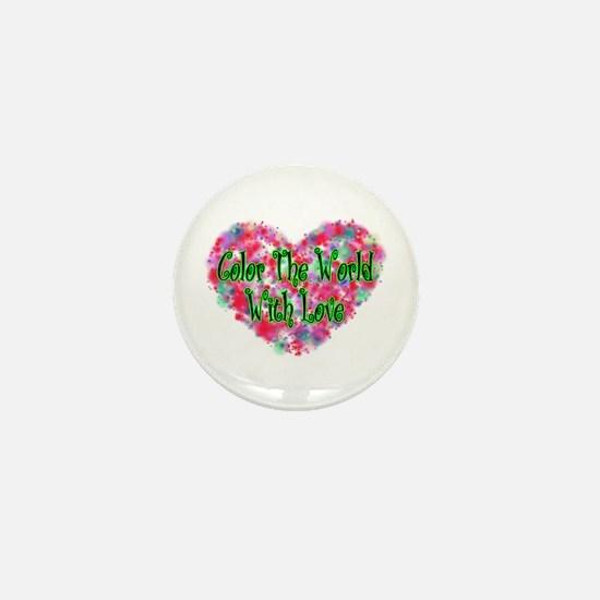 Color The World Mini Button