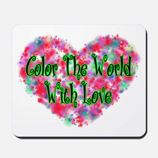 Color The World Mousepad