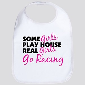 Real Girls Go Racing Bib