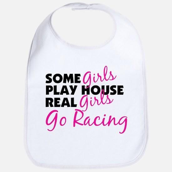 Real Girls Go Racing Bib
