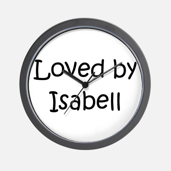 Unique Isabell Wall Clock
