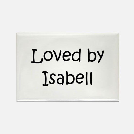 Cute Isabell Rectangle Magnet