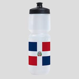 Dominican Republic Flag Sports Bottle