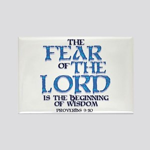 Fear of the Lord Rectangle Magnet