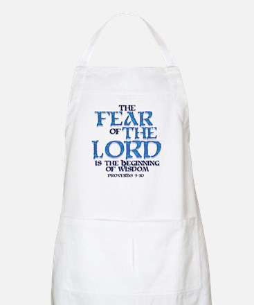Fear of the Lord BBQ Apron