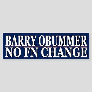 Obummer Obama Election Humor Bumper Sticker