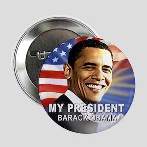"My President (Flag) 2.25"" Button"
