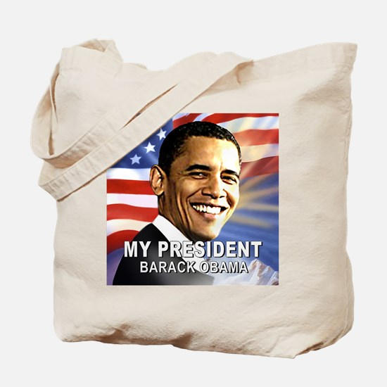 My President (Flag) Tote Bag