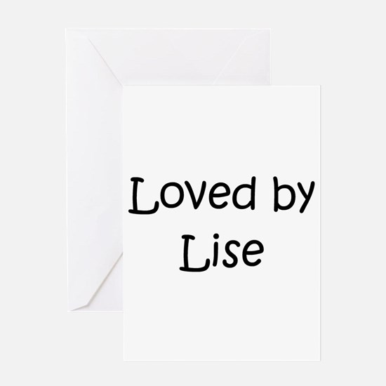 Cute Lise Greeting Card