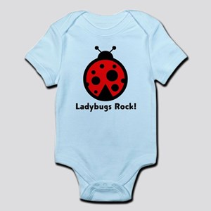 Ladybugs Rocks! Infant Bodysuit